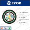 Porteur axial unitaire du mode FRP Eau-Bloquant 12 24 36 96 144 câble optique de fibre de 288 noyaux (GYFTY53)