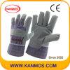 Перчатки виниловые пропитанные промышленной безопасности работы (41013)