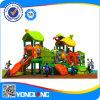 2014 het OpenluchtType van Speelplaats en Plastic Speelplaats, de Pijp van het Staal Gavanized en Netto Materiële OpenluchtSpeelplaats