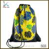 Kundenspezifisches preiswertes Polyester, das Drawstring-Rucksack bekanntmacht