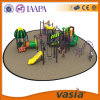 Campo da giuoco esterno dei bambini della strumentazione di ginnastica