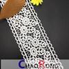 шнурок хлопка CRT0194 7cm для уравновешивания шнурка Eembroidery конструкции венчания Bridal для платья женщин