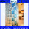 190*190*80mm Decrative Patterned Clear Glass Block