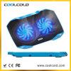 Ventiladores dobro de Coolcold que refrigeram a almofada, exaustor evaporativo de refrigerador de ar