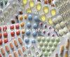 800micron rígido Ámbar Claro Cine Pharma PVC en rollo