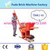 Lehm-Block, der Geräten-Gerät, kleine manuelle Ziegeleimaschine bildet