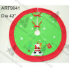 Falda casera del árbol de navidad de Santa de la decoración