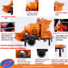 전기 Concrete Mixer Pump 18m3/H Output