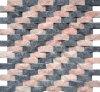 Mosaico de mármol natural (MSK-ROS 001)