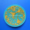 Coaster do copo do PVC 3D redondo (BOX-EVA-CUP COASTER-064)