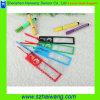Folha de ampliação plástica do PVC da lente de Fresnel 3X do Magnifier da régua do endereço da Internet Hw-805