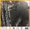 ペーバーのための磨かれた宇宙黒い花こう岩の舗装用タイルかカウンタートップまたはタイル