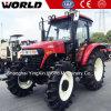 Tractor van het Landbouwbedrijf van de Prijs 4X4 110HP van China de Beste met VoorLader