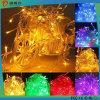 o Natal a pilhas dos 10m 100LED Ornaments a iluminação do diodo emissor de luz