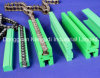 UHMWPE Chain Guide Rail d'auto-lubrification