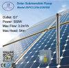 550W sistema de 3in centrífugas Solar Bomba da irrigação