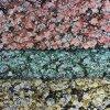 Couro artificial de florescência do plutônio do teste padrão para sacos, sapatas, decoração (HS-D12)