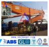 Кран гидровлического телескопичного прямого крана заграждения рукоятки морского оффшорный