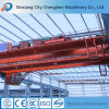 Fournisseur de déplacement digne de confiance de pont roulant de poutre de 60 tonnes de la Chine double