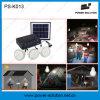 새로운 디자인 3 램프 전화 충전기를 가진 태양 Lighitng 시스템