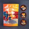 Transperantの印刷の高品質は3つの層がジッパーが付いている食糧パッケージのための直立したポリ袋を立てるポリ袋を薄板にしたジッパーの袋を立てる