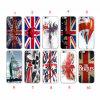 Caso BRITANNICO di disegno TPU della bandierina delle casse del telefono per il iPhone 7