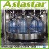 Máquina de rellenar líquida del agua automática rotatoria integrada 1200bph para 5gallon