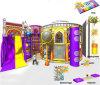 Campo de jogos interno dos miúdos temáticos do castelo do divertimento do elogio para a venda