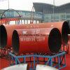 Codos soldados de las instalaciones de tuberías del acero inoxidable