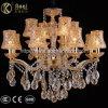 Het gouden Licht van de Kroonluchter van het Kristal van Champagne van de Klem