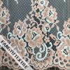 Tessuto di nylon del merletto del bello del fiore cotone di figura