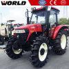 De Tractor van het Landbouwbedrijf van het Merk 110HP van de Wereld van China met het Ploegen