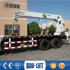 Grue mobile de boum télescopique hydraulique 16 tonnes