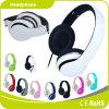 Écouteur de câble stéréo de téléphone mobile de ventes de couleur d'outre-mer d'OEM