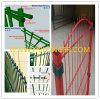 Проволочная изгородь покрынная PVC гальванизированная двойная/ограждать/загородка утюга