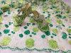 Lacet net français perlé d'arrivée de Tulle de tissu africain neuf de lacet