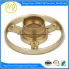 CNCの精密機械化の部品、CNCの製粉の部品、部分をめっきする旋盤の回転部品
