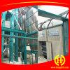 Instalando a linha de processamento máquina do milho