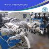 Línea de la máquina de la protuberancia del tubo doble del PVC Sjsz51