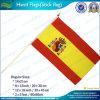 Рука развевая миниый национальный флаг Испани (M-NF01F02028)