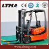 Ltma 1.5t 3-Wheel manueller hydraulischer Gabelstapler mit Batterie