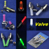 青かRed/Green/Yellow/White Mini LED Wheel Tire Bicycle Valve Light