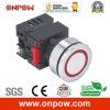 Onpow 30mm Signal Lamp (LAS0-K30-EB/R/12Vのセリウム、CCC、RoHS)