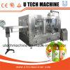 Fornecedor 3 do ouro em 1 máquina de enchimento engarrafada pequena escala do suco