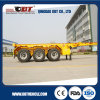 3車軸55ton 20gp Container Skeleton Trailer