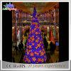 Luz colorida ao ar livre da árvore de Natal da decoração do casamento do diodo emissor de luz