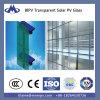 Панель солнечных батарей тонкой пленки как ненесущая стена стекла здания