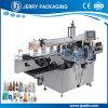 Automatischer doppelseitiger Aufkleber-Kennsatz-Etikettiermaschine für runde u. quadratische Flasche