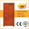 Folheado da venda de China porta de madeira contínua do melhor (SC-W057)