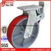 Echador del andamio de la PU de 12 pulgadas con el cargamento resistente